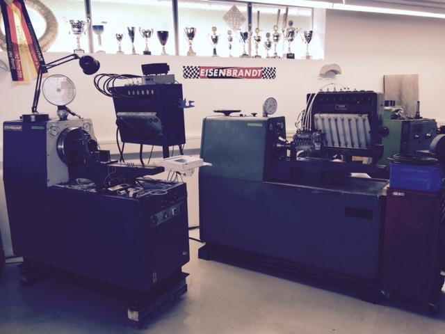 Testing of MFI pumps - Eisenbrandt Renn- und Sportwagen